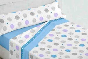 sabanas baratas de invierno cama de 150,135,105, 90 ,180 azul coralina