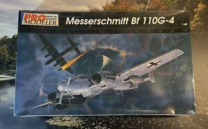 Vintage.ProModeler Monogram 1/48 WWII German Bf 110G-4 Messerschmitt NIB