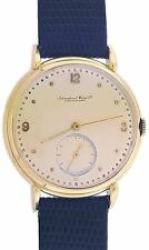 Vintage 18k gold IWC Shcaufhausen 36mm C 83  Watch