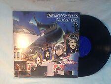 Vintage The Moody Blues Caught live Record vinyl album