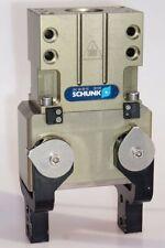 Schunk agarrador gwb64 307138 dos dedos winkelgreifer Pneumatik