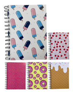 Various Premium Sweets Print A5 Dotted Notepads 80gsm 70 Sheets