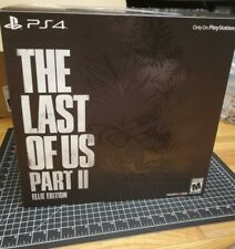ELLIE EDITION THE LAST OF US PART II 2 NEW COLLECTORS SET (STATUE+BACKPACK!) PS4