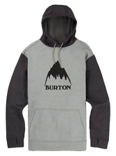 NEW NWT Men's BURTON Oak Dryride Thermex Pullover Hoodie Sweatshirt LARGE