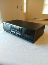 Vintage Pioneer Stereo Double Cassette Tape Deck Player Model CT-W503R