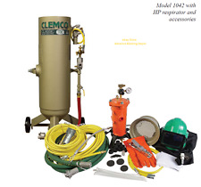 CLEMCO SANDBLASTER 1 CUFT SAND POT COMPLETE BLASTING PACKAGE #01039 (1 DAY SALE)