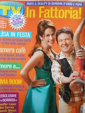 TV Sorrisi e Canzoni n°12 2005 Barbara D'Urso Jennifer Lopez Jim Carrey [D21]