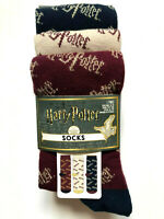 3 Paar Harry Potter Damen Socken Gold Glitzer Strümpfe Set 37-42 Primark