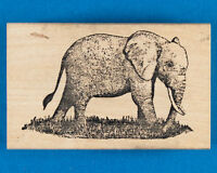 Elephant Rubber Stamp - Manjaro by CISTAMPS (Creative Images)