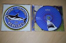 Los Rebeldes - Carne para tiburones. CD-Single PROMO (CP1705)