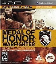 Medal of Honor: Warfighter Project Honor Edition (PlayStation 3,PS3) - COMPLETE