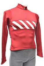 Rapha Phinney Merino Long Sleeve Cycling Jersey Men XS Red Road Bike 7-Eleven