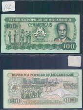 MOZAMBIQUE 100 METICAIS 1986 UNC (rif. 162)