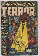 L2512: Adventures Into Terror #20, G-VG Condition