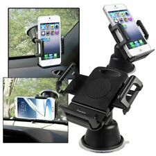Black Car Mount Suction Phone Holder For Apple iPhone X 8 7 iPhone XS/XS Max/XR