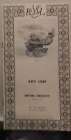 1970 Drouot Baño N º 6 Art 1900 M.Rheims & Laurin