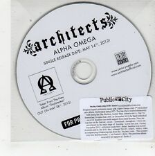 (FQ496) Architects, Alpha Omega - 2012 DJ CD
