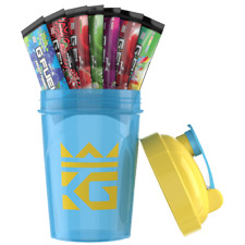 G FUEL SHAKER CUP + 7 SERVINGS THE ROYAL BREACH STARTER KIT / GFUEL TOP SELLER