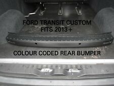 FORD TRANSIT CUSTOM LIMITED COLOUR CODED REAR BUMPER - MAGNETIC GREY -FITS 2013+