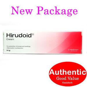 Hirudoid cream 14g (regular) Medinova Scar (New!)