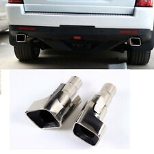 Exhaust End Tip Muffler Pipe Stainless Steel for Gasoline Land Rover Range Sport