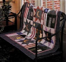 COURTHOUSE SQUARE  VINTAGE WALL APPLIQUE QUILT PATTERN