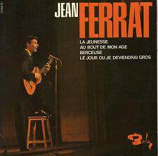 JEAN FERRAT LA JEUNESSE FRENCH ORIG EP ALAIN GORAGUER