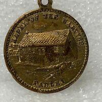 Vintage Chapel of the martyrs Padley Commemorative Medal 25 mm diameter