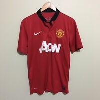 Manchester United Nike 2013/2014 Football Soccer Jersey Shirt Mens Medium