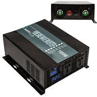 Power Inverter 1000W 12/24/48V to 120/220V Pure Sine Wave Inverter Run Fridge