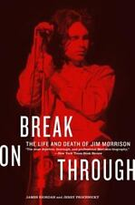 Break on Through: The Life and Death of Jim Morrison paperback book the doors