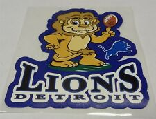 NFL Detroit Lions Decal Window Static-Cling Sticker Car or Truck