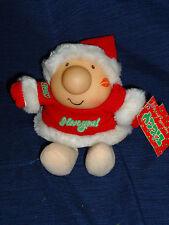 "Vintage 1986 American Greetings ZIGGY Christmas plush ""I Love You"""