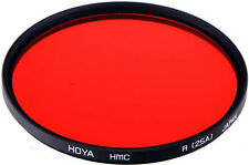 Hoya 49mm Red #25 Multi Coated Glass Filter. U.S Authorized Dealer