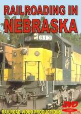 Railroading in Nebraska DVD NEW UP BN Chicago & North Western Union Pacific
