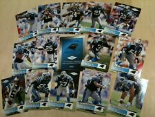 Carolina Panthers 1995 Inaugural Set Skybox 20 cards plus header Very Nice ! ! !
