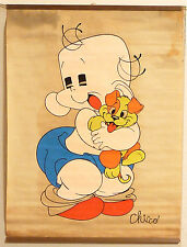 (PRL) CHICCO ANNI '70 VINTAGE AFFICHE PRINT ARTE POSTER ART CARTA PERGAMENATA