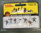 Woodland Scenics / SCENIC ACCENTS #1894 HO - Snowball Fight - 10/pc A1894