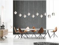 Modern Crystal Glass Ball Pendant Ceiling Light Lamp Free G4 LED Bulb Chandelier