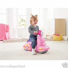 Fisher Price Laugh & Learn Smart Stages Scooter Pink NEW