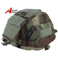 Emerson Tactical MICH TC-2000 ACH Helmet Cover with Pouch Hunting Woodland