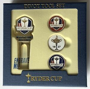 2021 Ryder Cup Divot tool set ball markers whistling straits golf pga new 2020