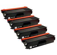 4x TN-315 Black Toner Cartridge for Brother TN315 TN315BK MFC-9560CDW HL-4150CDN