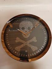 Scully Clock Karlsson Wall Clock 20cm Diameter strass crystals
