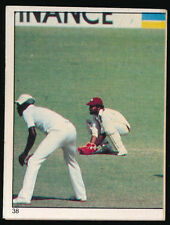 Scanlens Single West Indies Cricket Trading Cards