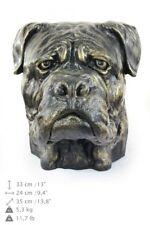 Bullmastiff - dog head resin figurine, high quality, Art Dog