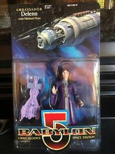 Vintage Action Figure Babylon 5 Delenn with Minbari Flyer 1997