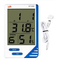 Digital LCD Thermometer Hygrometer Indoor Outdoor Temperature Humidity Meter