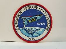Vintage NASA Space Shuttle OSTA-1 Environment Resources Technology Patch