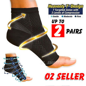 Foot Sleeve Plantar Fasciitis Compression Socks Achy Swelling Heel Ankle Support